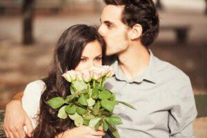 пара и цветы